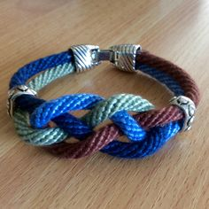 16 strand Kumihimo bracelet. Worked on a round Hamanaka disc by Sue Stevenson