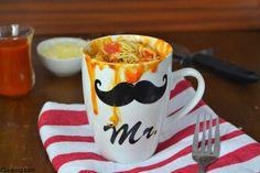 Cuuking!: Pizza mug cake (Con videoreceta) para #CuukingLovesMugcakes