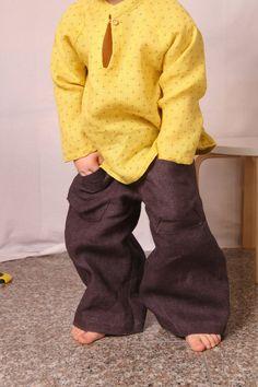 Purple Brown Pants (Unisex)
