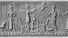 Panteón de dioses sumerios