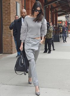 Shop Kendall Jenner's off-duty street style look
