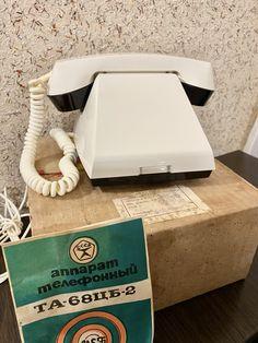 New Vintage White phone,Old rotary phone,Retro phone,Circle dial rotary phone,Vintage landline phone,Old Dial Desk Phone,Cream phone,USSR Retro Phone, Ring Ring, Rotary, Landline Phone, Desk, Cream, Vintage, Creme Caramel, Desktop