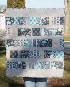 Colton's Quilt by Punkin Handmades, via Flickr