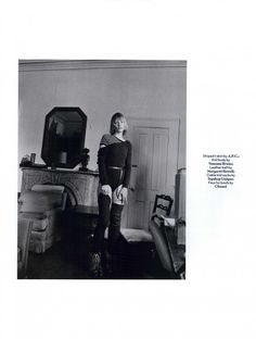 AnOther Magazine Editorial FW 2010-11 - Kirsten Owen by Marlene Marino