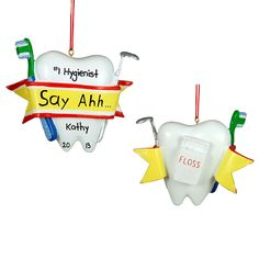 Fun DIY dental ornaments! #deltadental | Get Crafty | Pinterest ...