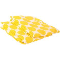 Bacati - Ikat Dots Crib/Toddler Bed Fitted Sheets 100% Cotton Muslin 2 Pack, Available in Multiple Colors, Yellow