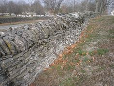 Stone wall, Shakertown at Pleasant Hill, Mercer County, Kentucky by Joel Abroad, via Flickr