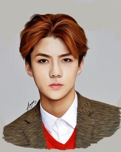 Exo's Sehun  Fanart