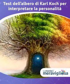 Test dell'albero di Karl Koch per interpretare la personalità  Il test dell'albero di Karl Koch è un test psicologico proiettivo per analizzare la personalità delle persone e l'universo emotivo sottostante. Data la facilità della sua applicazione, viene comunemente somministrato ai bambini. Tuttavia, è un utile strumento di auto-analisi anche per gli adulti, dato che aiuta a conoscersi un po' meglio. Cogito Ergo Sum, What U Want, Energie Positive, Human Mind, Emotional Intelligence, Chakra, Kochi, Feel Good, Psychology