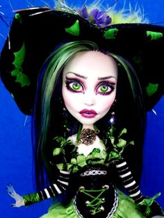 Spectra Witch OOAK Custom Doll Monster High by dmasi007, via Flickr