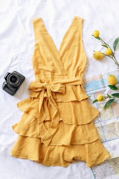 Trendy & affordable women's boutique shopping at The Copper Closet. Shop with us online or at one of our 10 locations across the South East! Girly Outfits, Trendy Outfits, Fashion Outfits, Yellow Outfits, Skater Outfits, Disney Outfits, Fashion Styles, Shopping Shopping, Online Shopping