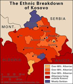 Kosovo...someone I know is going there next month...