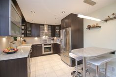 Real Estate Photography - 2001 Brentwood Rd, Northbrook, IL, 60062 - Kitchen