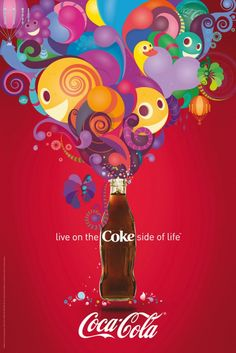 Coca-Cola Live in the Coke side of life