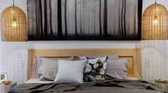 #theblock master bedroom #roomreveals: Jess & Ayden's room. Photography by Martin Philbey.
