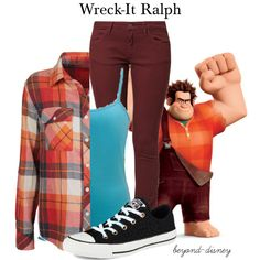 """Wreck-It Ralph"" by beyond-disney on Polyvore"