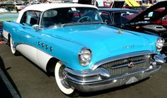 1950's BUICK - I learned to drive in one of these!