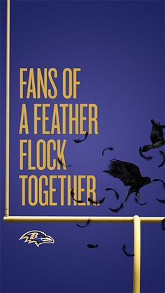 Flock together in support of the Ravens and watch your team soar through the season with NFL Mobile from Verizon. Baltimore Ravens Logo, Baltimore Maryland, Nfl Ravens, Ravens Sign, Ravens Wreath, Win Or Lose, Home Team, Sport, Football Wreath