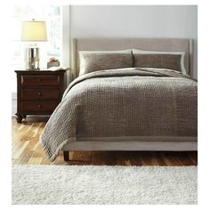 Signature Design by Ashley Stitched Comforter Set   AllModern