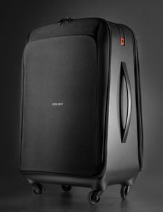 Archange #design #black #suitcase #Delsey