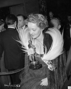 Bette Davis, by far one of America's greatest actress and winner of two Academy Awards for her roles in Dangerous and Jezebel.