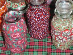 Clay herb or storage jars. $7 each or set for 15
