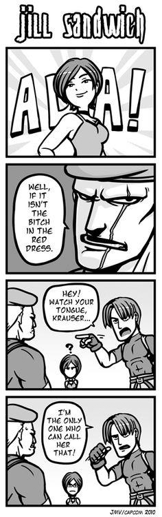 RE: Jill Sandwich 10 by Kaigetsudo on DeviantArt