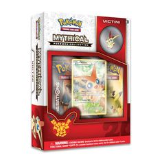 $25- Found at Target, Fred Meyer's, Walmart, and online at Pokemon center. Victini box Mythical Pokemon collection.