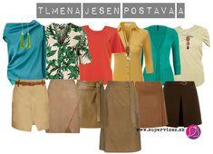 Ako rozmiestniť farby na postave Core Wardrobe, Wardrobe Ideas, Autumn Colours, Warm Colors, Deep Autumn, Warm Spring, Colourful Outfits, Type 3, Photo Shoot