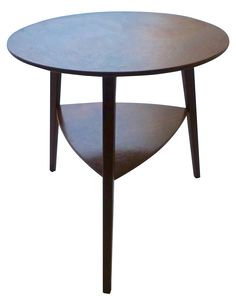 Danish Modern Peter Hdivt Style Side Table