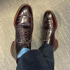 8ed781775f thrombonsf  Alden X  brickmortarseattle Norwegian Split Toe  chukka on…  Dress Shoes