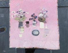 Sandy Murphy Pink Cloth Paisley Art, Glasgow School Of Art, Naive Art, Art Music, Artist At Work, Great Artists, Painting & Drawing, Flower Art, Illustration Art