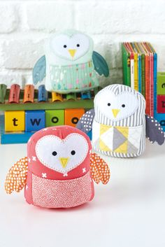 DIY: Pocket Owl Softies with Template