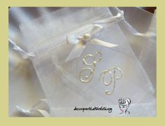 Personalized Wedding Organza Bags