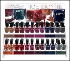 Zoya Entice and Ignite Collection � Fall 2014