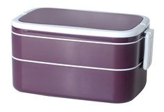 Mulberry by Genmert Double Stack Bento Box with Handles, Eggplant by GENMERT kitchen, http://www.amazon.com/dp/B009IJEDOS/ref=cm_sw_r_pi_dp_P2Gjsb0MD6G3S