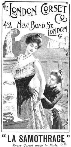 Le corset à la Belle Epoque - 4eme partie : L'art de se corseter