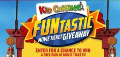 FREE Pair of Movie Tickets ($16 Value) - 7,500 Winners! - Raining Hot Coupons