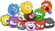 Club penguin Puffles