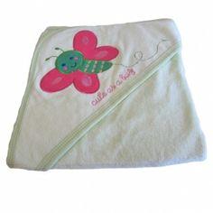 Babytæppe/svøb sommerfugl pink