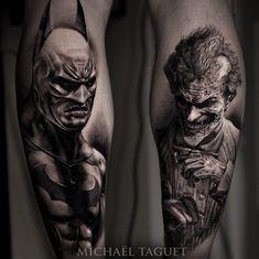 Batman and Joker by Michael Taguet