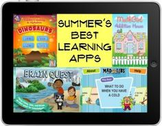 Learning apps for kids this summer