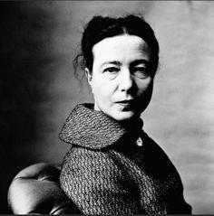 Famous Capricorns: Simone de Beauvoir (writer) January 9.