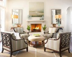 119 Best 4 chair sitting room images | Room, Decor, Living ...