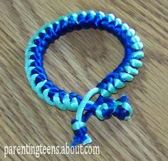 Build A Bracelet | Snake Knot Bracelet Craft Projects for Teens