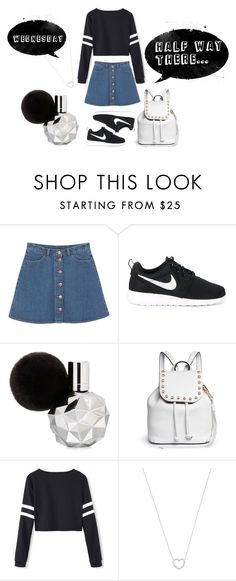 """Wednesday"" by irisjwang on Polyvore featuring Monki, NIKE, Rebecca Minkoff and Tiffany & Co."