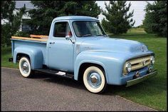 I love old trucks! by cflaug 1953 Ford Pickup….I love old trucks! Vintage Pickup Trucks, Old Ford Trucks, Antique Trucks, 4x4 Trucks, Lifted Trucks, Vintage Cars, Antique Cars, Truck Wheels, Ford Lincoln Mercury