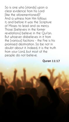 Most of the people do not believe (#Islam, #Quran)