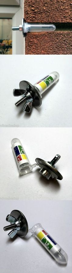 Sneaky wing nut & washer nano geocache.  Just remember this would…