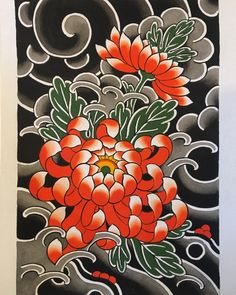 Garden Flowers Dm Or Email For Appointments Or Commissions Japanese Snake Tattoo, Japanese Flower Tattoo, Japanese Tattoo Designs, Japanese Sleeve Tattoos, Japanese Flowers, Traditional Tattoo Flowers, Traditional Japanese Tattoos, Flor Tattoo, Arm Tattoo